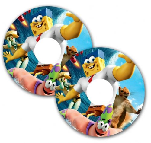 CARTOON Wheelchair Spoke Guard Sticker Skins